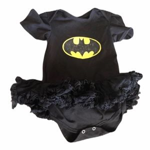 Baby Girl Batman Onesie with Tutu 18-24 months